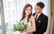 Ngắm bộ ảnh cưới đẹp lung linh của tiền vệ Quốc Chí