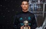 Ronaldo nhận giải 'Cây săn bàn xuất sắc nhất năm'