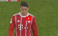 Màn trình diễn của James Rodriguez vs Borussia Dortmund