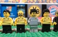 Đại thắng của Bayern trước Dortmund theo phong cách Lego