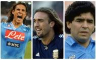 10 'vua dội bom' ngoại quốc làm khuấy đảo Serie A: Từ 'Thuốc nổ' đến 'Cậu bé vàng'