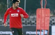 Chưa được thi đấu, Diego Costa vẫn cực kỳ vui vẻ tập luyện