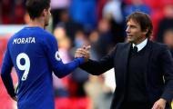 """Morata CHÚ Ý, Chelsea chi 88 triệu bảng chiêu mộ """"thợ săn bàn thắng"""""""
