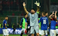 Buffon bật khóc, tuyên bố giải nghệ