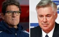 Capello hối FIGC mời ngay Ancelotti tiếp quản ghế nóng