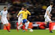 Neymar bị 'phong ấn', Brazil và Anh cầm hòa nhau không bàn thắng