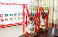 Đội vô địch V-League 2017 sẽ được nhận 2 chiếc cúp