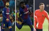 Trước chuỗi tourmalet, khủng hoảng hàng hậu vệ đang chờ Barcelona