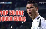20 bàn thắng 1 chạm kinh điển của Cristiano Ronaldo