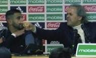 HLV tuyển Algeria chửi xối xả phóng viên trong họp báo