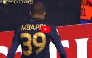 Màn trình diễn của Kylian Mbappe khi mới 16 tuổi trước Tottenham