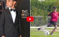 Những pha xử lý ảo diệu nhất của con trai Cristiano Ronaldo