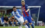 Lionel Messi thể hiện ra sao trận gặp Leganes?