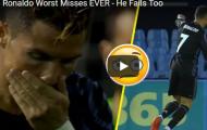 Những pha bỏ lỡ khó tin nhất của Ronaldo