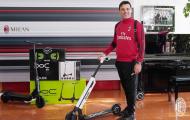 Chán bóng đá, AC Milan chuyển qua chơi xe lướt