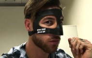 Chấn thương ở Real: Ramos đeo mặt nạ, Gareth Bale chưa hẹn ngày trở lại