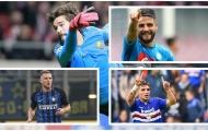 Đội hình tiêu biểu của Serie A: Juventus mất dạng