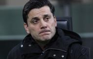 Montella đau, nhưng vẫn không trách Milan
