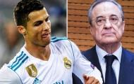 Ronaldo tiến cử 3 ngôi sao với chủ tịch Perez