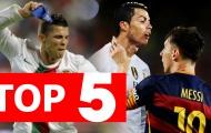 Top 5 lý do khiến Ronaldo bị ghét thế giới bóng đá