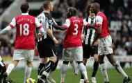 Trận hoà điên rồ giữa Arsenal và Newcastle mùa giải 2010/11