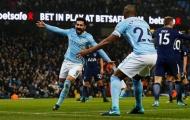 'Cơn lốc xanh' Man City cuốn phăng Tottenham khỏi Etihad