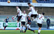 Highlights: Hellas Verona 3-0 AC Milan (Vòng 17 Serie A)
