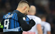 Icardi ôm đầu, Spalletti vô cảm trước cú sốc Udinese