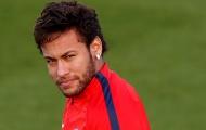 Neymar 'đằng đằng sát khí' trên sân tập của PSG