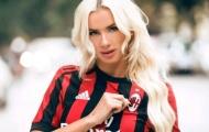 Nữ fan cuồng chán chường vì Milan có thành tích bết bát