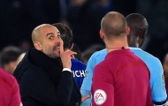 SỐC: Pep Guardiola tính ăn thua đủ với trọng tài