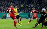 Bayern Munich đánh bật Dortmund khỏi cúp Quốc gia Đức