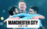 Ngoài Man City và Barca, còn 5 đội bất bại ở châu Âu