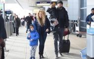 Vợ chồng Pique hạnh phúc tới Mỹ du lịch