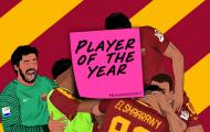 Cầu thủ xuất sắc nhất năm của Roma: Đâu là những ứng cử viên?