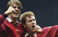 Khi David Beckham và Paul Scholes phối hợp tạo nên siêu phẩm