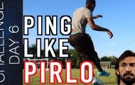 Làm sao để sở hữu kỹ năng chuyền siêu hạng của Andrea Pirlo?