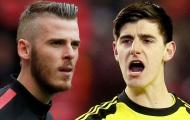 Căng thẳng cuộc đua 'Găng tay vàng' Premier League: De Gea đấu Courtois