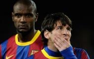 Abidal nhớ mãi sự phũ phàng của Messi và đồng đội