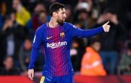 Messi bước vào top 10 ghi bàn nhiều nhất lịch sử Cúp Nhà vua