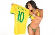 Priscilla Rocha - người mẫu siêu vòng 3 hết mình vì Neymar