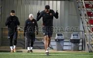 Yerry Mina khiến Messi, Suarez choáng váng trong buổi tập đầu ở Barca