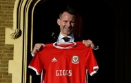 Ryan Giggs rạng rỡ ngày nắm đội tuyển xứ Wales