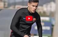 Buổi tập đầu tiên của Philippe Coutinho tại Barcelona