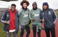 Sân tập Man United đón 2 khách quý, Pogba được giao trọng trách to lớn