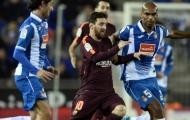 Highlights: Espanyol 1-0 Barcelona (Cúp Nhà Vua TBN)