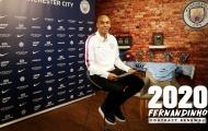 CHÍNH THỨC: Manchester City trói chân tiền vệ Fernandinho