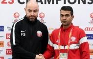 HLV U23 Qatar cảnh giác trước cuộc đối đầu U23 Palestine tại Tứ kết