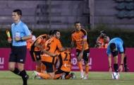 Hoàng Vũ Samson đá hỏng luân lưu ở trận ra mắt CLB Thái Lan