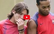 Lionel Messi và Ronaldinho phối hợp ăn ý như thế nào?
